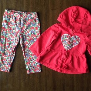 12-month Jacket and Pants Set